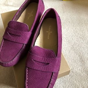 Cole Haan NIB leather moccasins